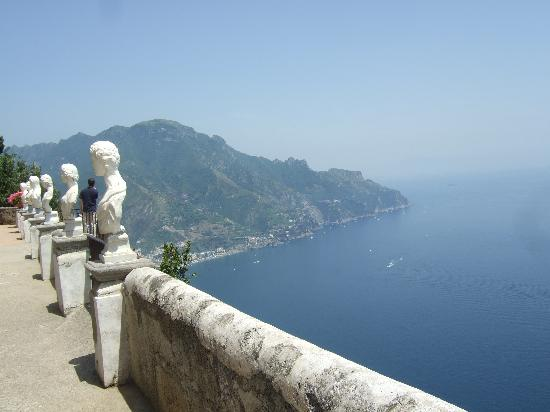 Ravello, Włochy: Coastal View