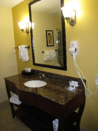 Sleep Inn & Suites Pooler: updated bathroom