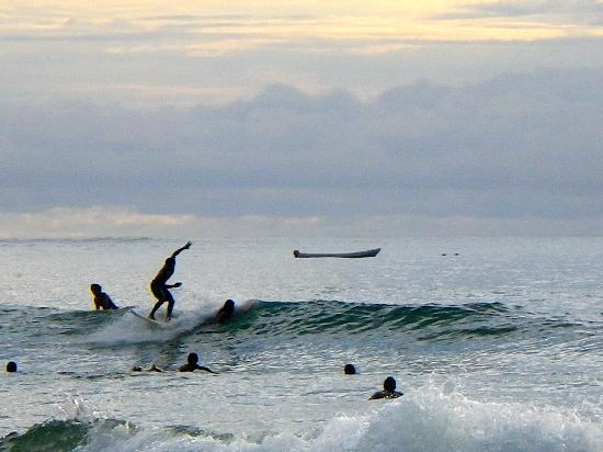 Tamarindo, Costa Rica: surfers doin their thing