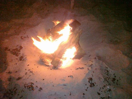 Hawthorn Suites by Wyndham Corpus Christi: Bonfire on The Beach