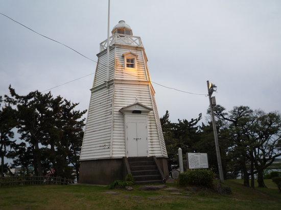 Sakata, Japan: かわいい灯台です