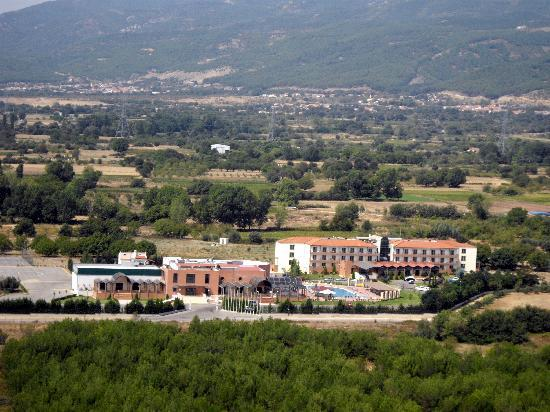 Arcadia Hotel: Aerial Panorama