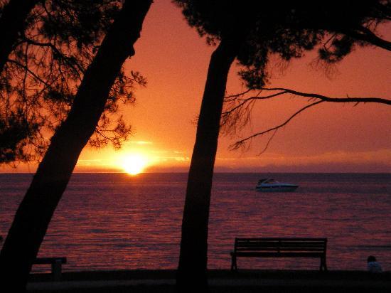 Laguna Molindrio Hotel : Sunset