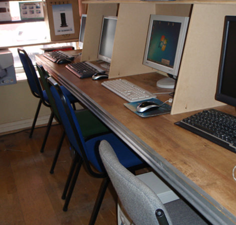 Computer Services: Internet PC's