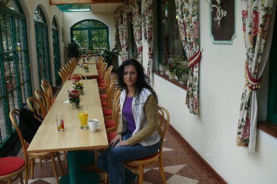 Torrenerhof: der Hoteleigene Wintergarten