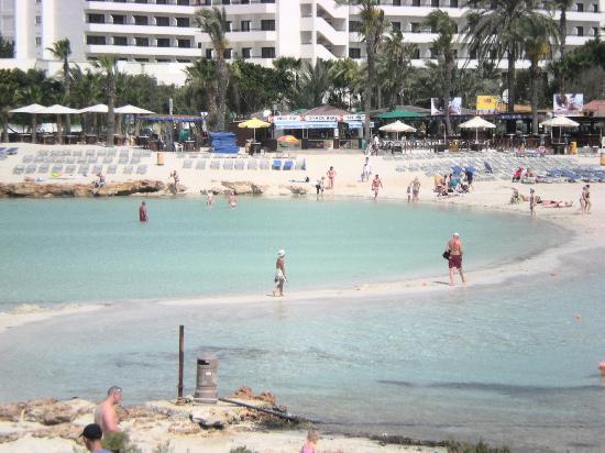 Nissi Beach Resort : Spiaggia