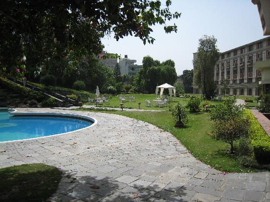 Hotel Yak & Yeti: Ein Garten der Ruhe