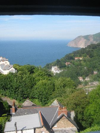 Highcliffe House: View from the Cleaves bedroom