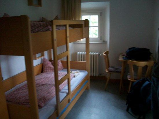 Jugendherberge Burg Stahleck: The room we stayed in.