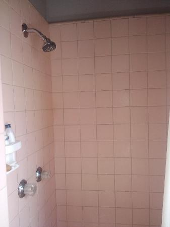 Inn at Calafia Beach: Shower stall