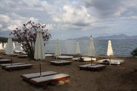 Thermisia, Grèce : una delle spiagge