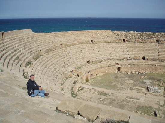 Al Khums, Libyen: Amphi Theater in Leptis Magna (Lebda)