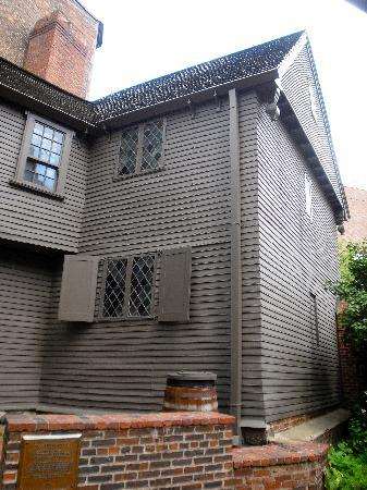 The Paul Revere House: paul revere house side