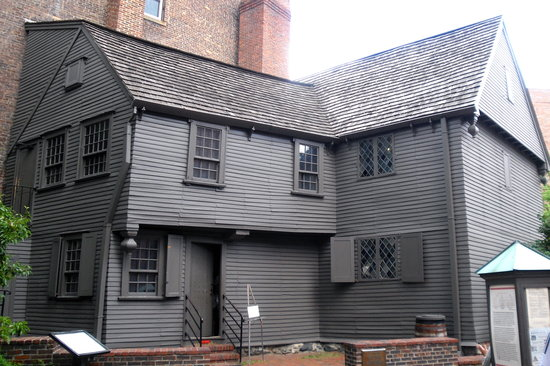 The Paul Revere House: paul revere house