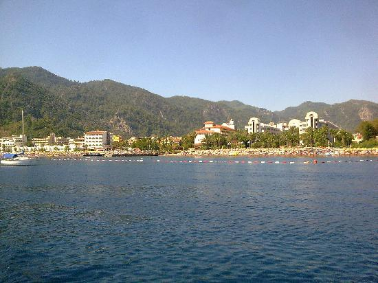 Hotel Siesta: veiw from boat trip