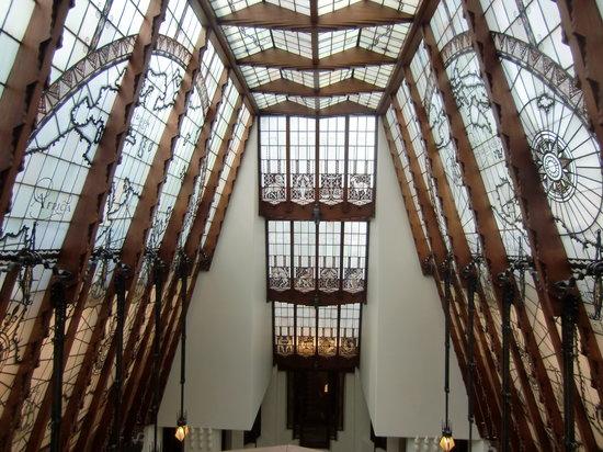 Grand Hotel Amrath Amsterdam : vidrieras