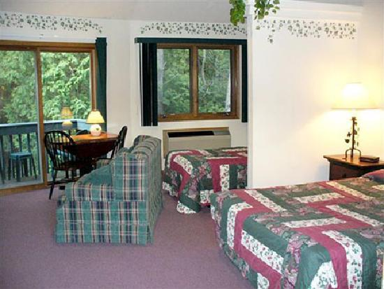 Baileys Harbor, WI: Fireplace Lodge Suite