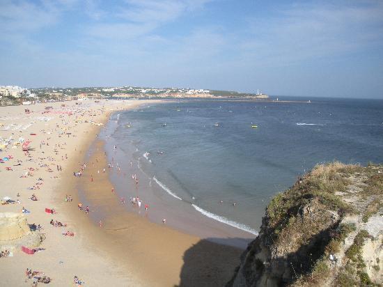 Strand von Praia da Rocha, Portugal: Laaange strender i Praia de Rocha