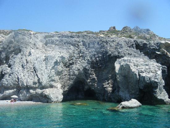 Mitsis Faliraki Beach Hotel & Spa: A stop on the boat trip