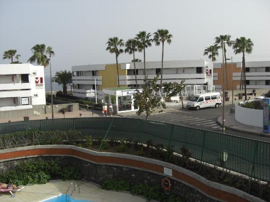Apartamentos Judoca Beach : Blick vom Balkon 2
