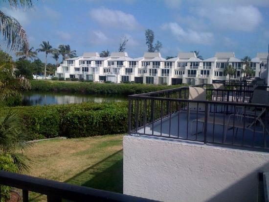 Lighthouse Resort & Club: lagoon view from units