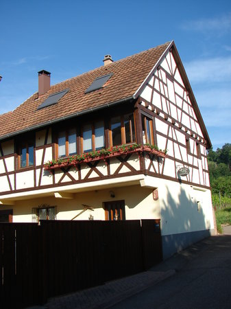 Kintzheim, Francia: The owners house ( similar to gites)