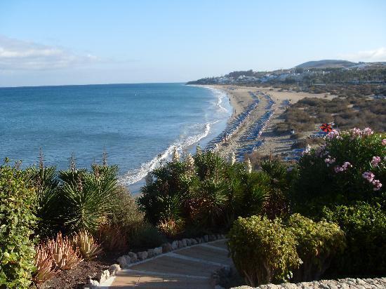 SBH Taro Beach : vista dall'hotel della spiaggia