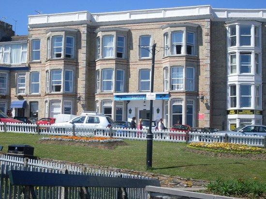 Hotel Sunnyside Newquay: the hotel