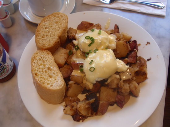 Stanley: Corned Beef Hash, Eggs and Hollandaise