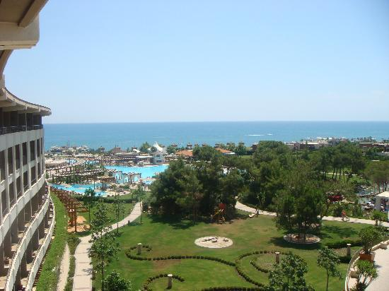 Ela Quality Resort Belek: The view from our balcony