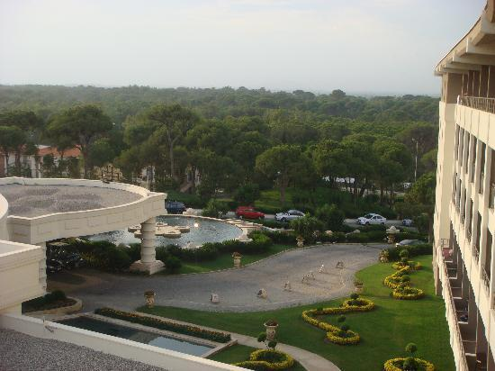 Ela Quality Resort Belek: The view from our balcony2