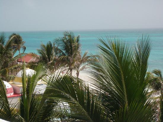 Hotel Riu Cancun: esto alcanzaba a ver!