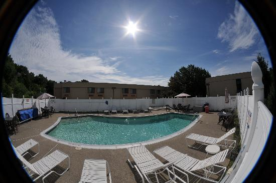 All Seasons Inn & Suites: relax by the pool