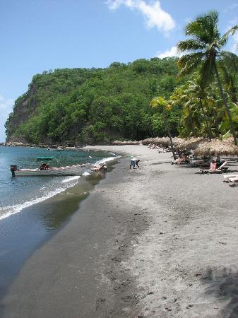Jade Mountain Resort: Anse Chastenet beach