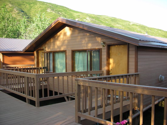 Denali Backcountry Lodge: our cabin