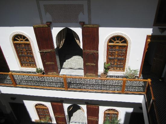 Riad Layali Fes: ground view