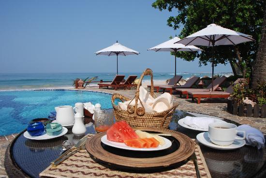 Amazing Ngapali Resort : breakfast