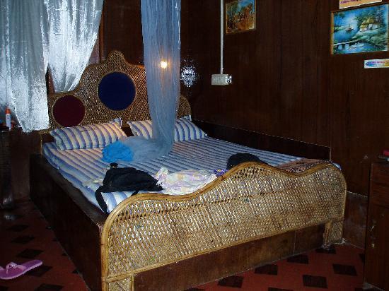 Kerala Bamboo House : Bedroom