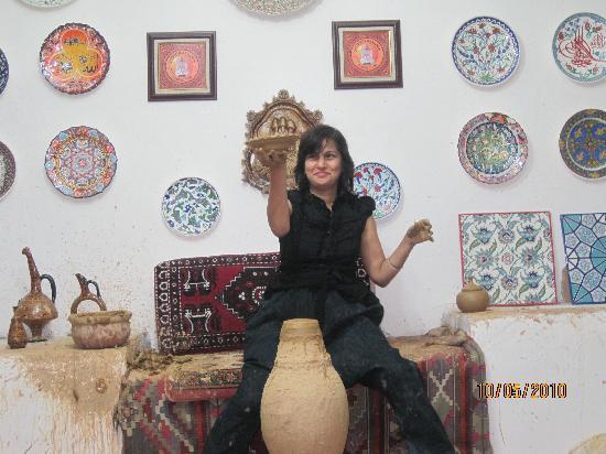 Tourist Hotel & Resort Cappadocia: Pottery centre