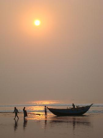 Sunrise at Puri Beach
