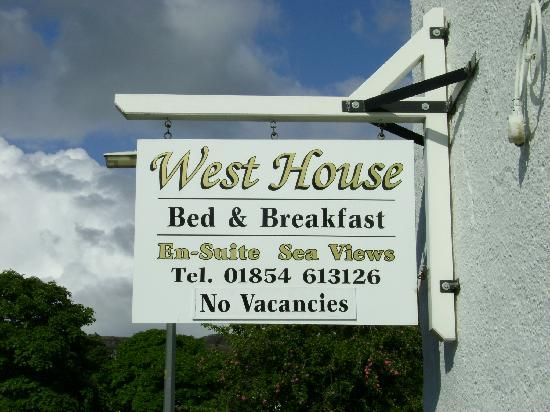 West House Bed and Breakfast: West House B&B