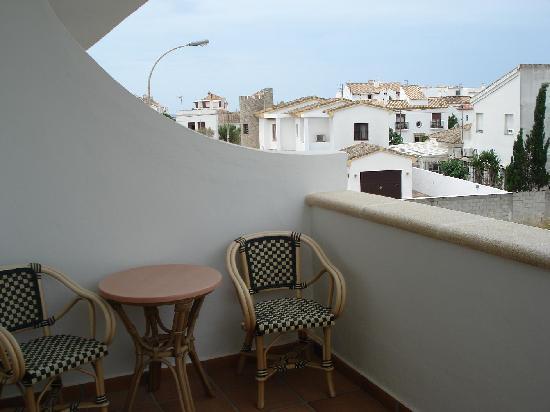 Hotel Porfirio: Vistas desde el balcón 2
