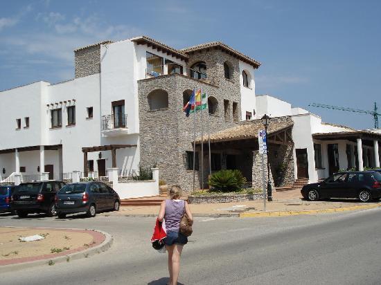 Hotel Porfirio: Fachada