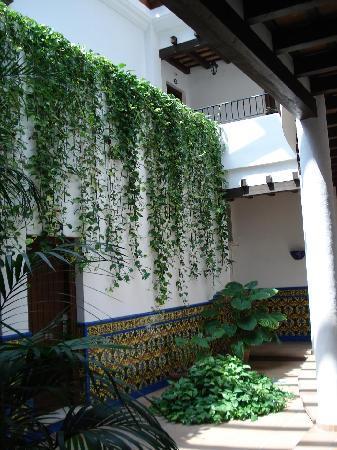 Hotel Porfirio: Interior zonas comunes