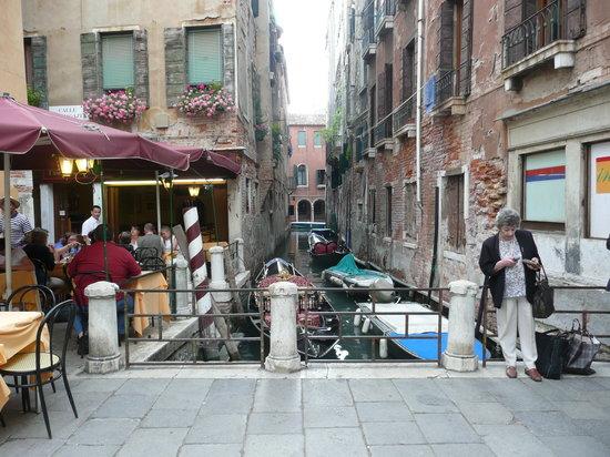 La Rivetta: terrasse du restaurant