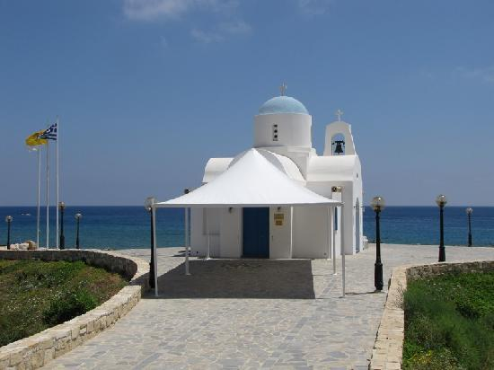 Golden Coast Beach Hotel: Church in gulf