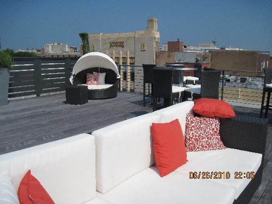The Restoration : roof top deck