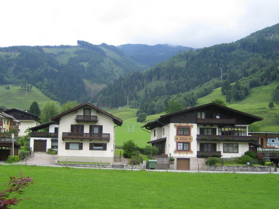 Hotel Tauernhof: View from our window