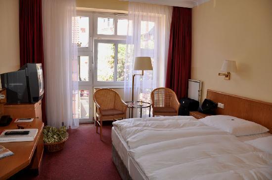 H+ Hotel Herzog Widukind Stade: Doppelzimmer Herzog Widukind