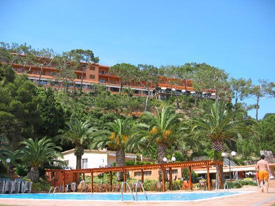 Hotel Santa Marta: fro the beach